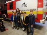 Exkurzia na hasičskej stanici